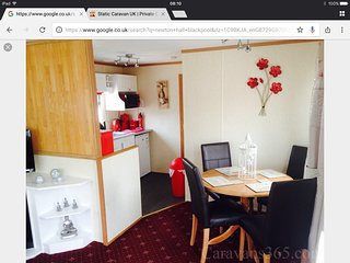 6 Berth caravan Newton Hall Blackpool