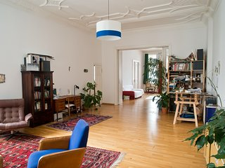 Beautiful and spacious apartment in historic art nouveau building