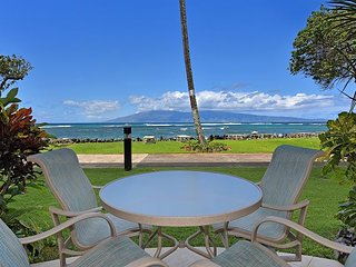 Kahana Reef 111 - 1 bedroom Romantic Ocean Front  Vacation!