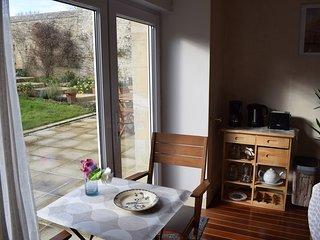 Villa Athena Gîte 2 pers - bio veggie - proche Arromanches - CB acceptée -