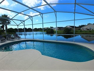 2448WD. Fabulous Lakeside 4 Bedroom Pool Home in KISSIMMEE FL