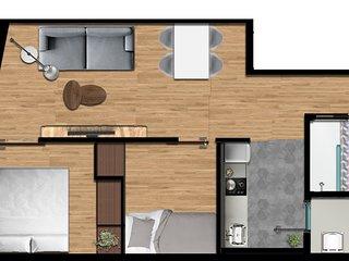 Olala Design Apartments 1.4   10m Pl.España