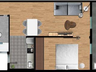 Olala Design Apartments 1.3 Terrace 10m Pl.España