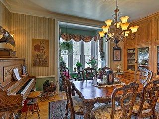 This elegant home hosts 4 bedrooms, 2.5 bathrooms and sleeps 8!