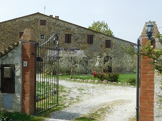 Maremma 1 apartment in ancient farm in Tuscany