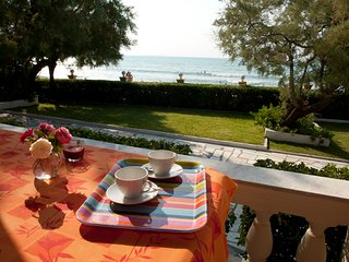 Beach Front Villa Antonia in Acharavi with 3 bedrooms