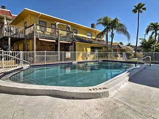 Breezy Belleaire Beach Condo - 12 Steps to Shore!