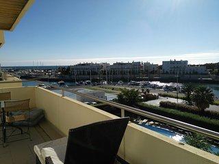 Beautiful Balcony Marina Vilamoura View, Modern Amenities, Aquamar 309