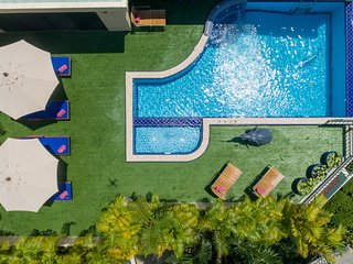 Fabulous private pool and secluded sun bathing area