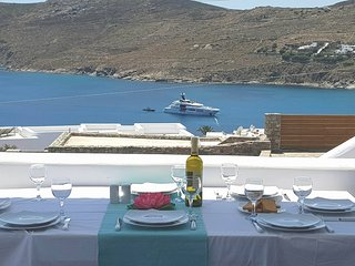 Amazing 4 bdr Villa - Panoramic Sea View in Mykonos