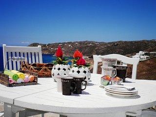 Amazing Myconian Villa-Elia Beach