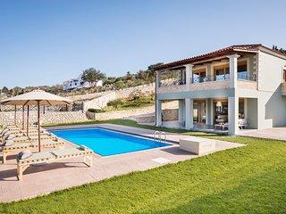 Erato 5BR Seaview Villa, Gavalochori, Chania
