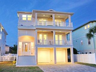 NEW IN 2018! Ocean View Home w/ Heated Pool, Elevator, Rooftop Deck, Sleeps 10