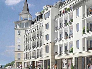 Luxus Ferienwohnung in Sellin auf Rugen, erste Strandreihe und Dachterrassen SPA