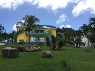 Casa Calypso - Great views of the capital.  4 minute drive to Grand Anse beach.