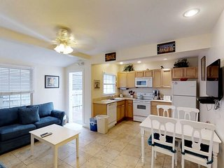 Dog-friendly condo w/ porch & Old Town location - walk to beaches & restaurants!