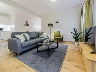 Wonderful 2 Bedrooms Apartment in the Centre of Tallinn ( for 3 person)