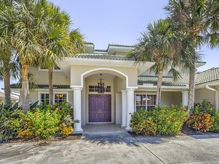 Stylish, waterfront getaway w/ private pool, deck, & large boat dock