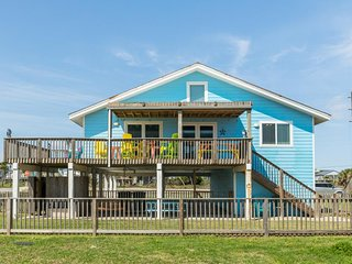 Dog-friendly beachfront home w/ shared pool, wet bar, game room, & tennis