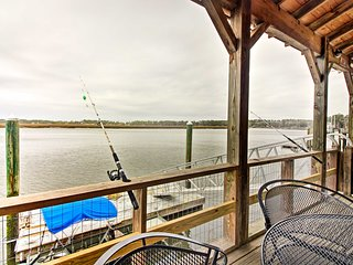 NEW! Waterfront Midway Home w/Private Dock & Grill