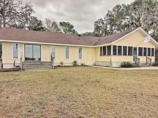 Waterfront Midway Home w/ Private Dock & Grill!