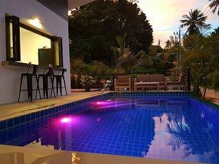 Jungle paradise villa, 3 min drive from Lamai beach
