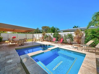 Slice of Paradise in Delray Beach - 3BR w/ Pool, Hot Tub & Backyard Oasis