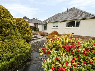 23 KENTSFORD ROAD, views of Morecambe Bay, open-plan, near Grange-over-Sands
