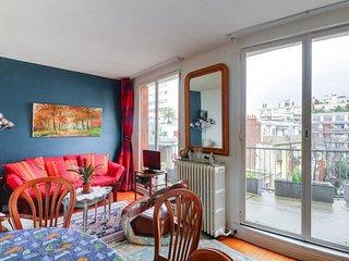 Cosy 2 pièces avec balcon - Porte de Saint-Cloud