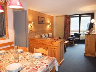 1 bedroom Apartment in Les Menuires, Auvergne-Rhone-Alpes, France : ref 5558532