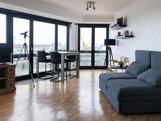 Cosy, modern studio with an awesome view of Ostend
