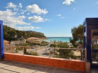 Splendide vue mer à 100 m de la plage, 4 chambres, 7 couchages