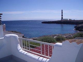 Bungalow en primera linea de mar en Cap Artruix, Ciutadella, Menorca