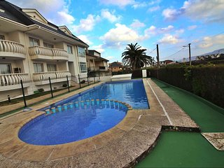 Ref. 11950 Apartamento a pie de playa con piscina