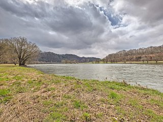 NEW! Rogersville Apartment on 27 Acres w/ Pond!