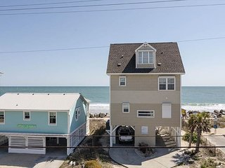 Experience the Northend of Carolina Beach in this 6 bedroom dog friendly home