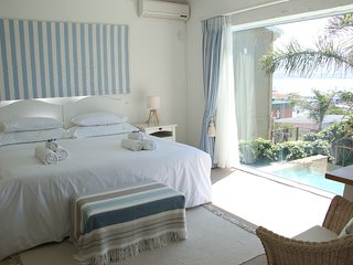 Tranquility Room with calm tones and stunning views.