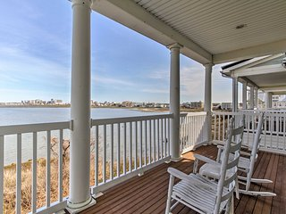 NEW! Gated Resort Ocean City Home w/Private Beach