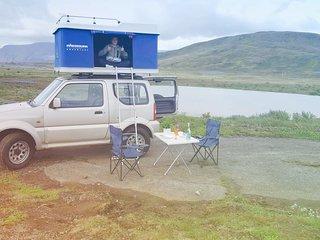 4x4 Roof Top Tent Camper Jimny - BlacksheepCampers