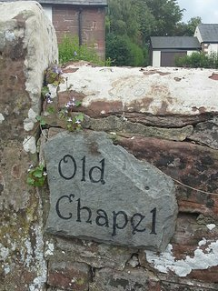 Cumberland stone wall surrounding Old Chapel