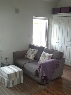Sofa in open plan living area