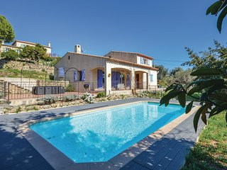 5 bedroom Villa in Vallauris, Provence-Alpes-Cote d'Azur, France : ref 5583353