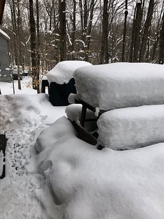 Sometimes we get a lot of snow