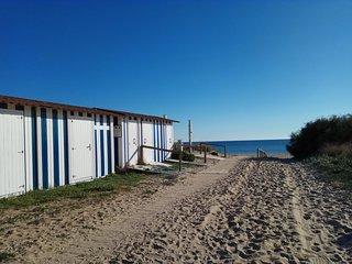 PRIMERA  Linea de Playa .Atico vistas al mar.4-6 PERSONAS.120M.