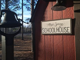 New! The Schoolhouse at Music Springs.