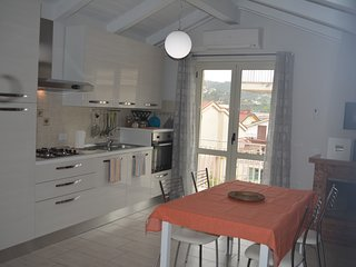 Comfortable Attic apartment B&B Inside Agropoli 2 balconies and highspeed Wi-Fi