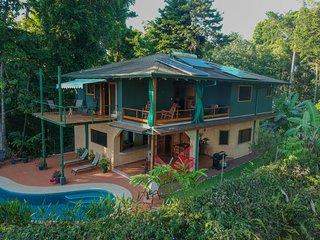 Casa Uvita: Rainforest & Ocean Views, Eco-Home