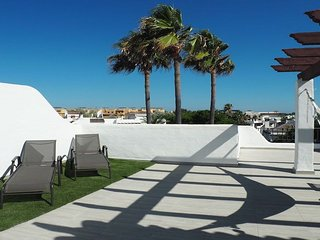 Penthouse 300 m from beach 65m2 roof terrace
