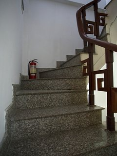 Stairs up the floors