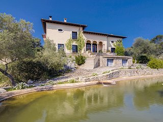 Villa 10 people Puigpunyent, Barbecue. Private pool. Clear views -00063.